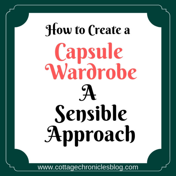 How to create a capsule wardrobe: How to get started with creating a capsule wardrobe.