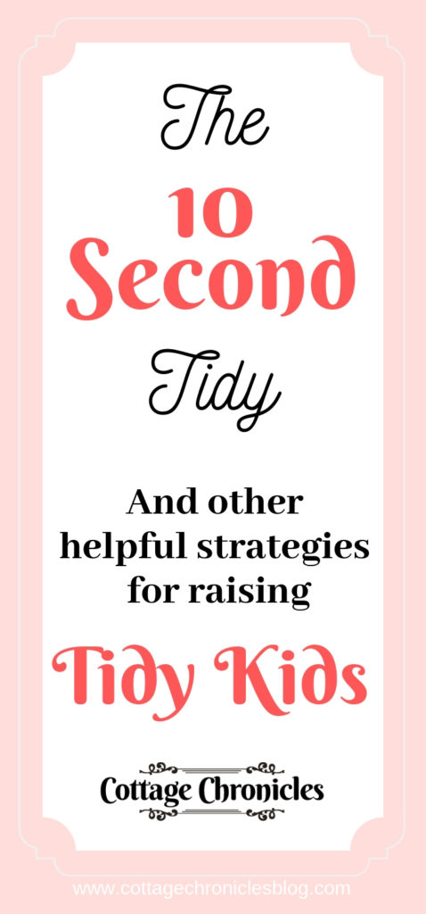 How to raise Tidy Children. Strategies to help Children tidy and clean their rooms and other spaces.  Helping kids succeed in their chores.