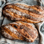 Four ingredients, no experience required for most amazing and beautiful bread you've ever made. You will be delighted by how truly easy it is to make this heavenly chewy, crispy crust, no-knead french bread.