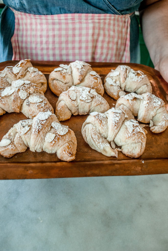 Simple, light and airy Almond Croissants, with an easy recipe and picture tutorial.  Beginner friendly baking, always a classic French treat!