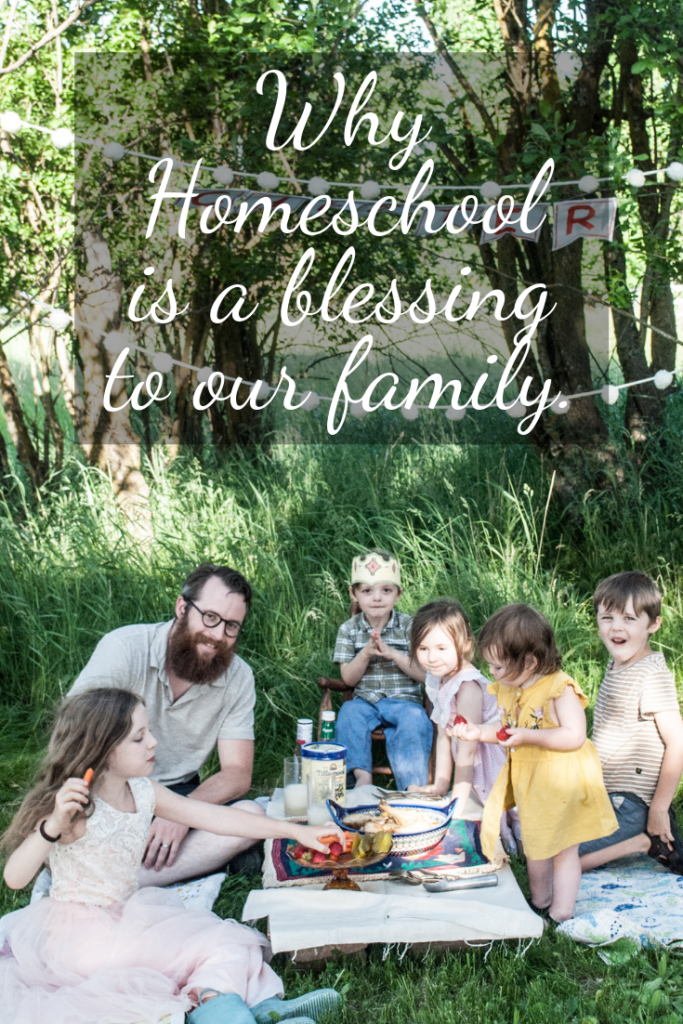 Homeschool has been such a blessing to our family.  Here are just a few reasons that this busy mother is so grateful for homeschooling!