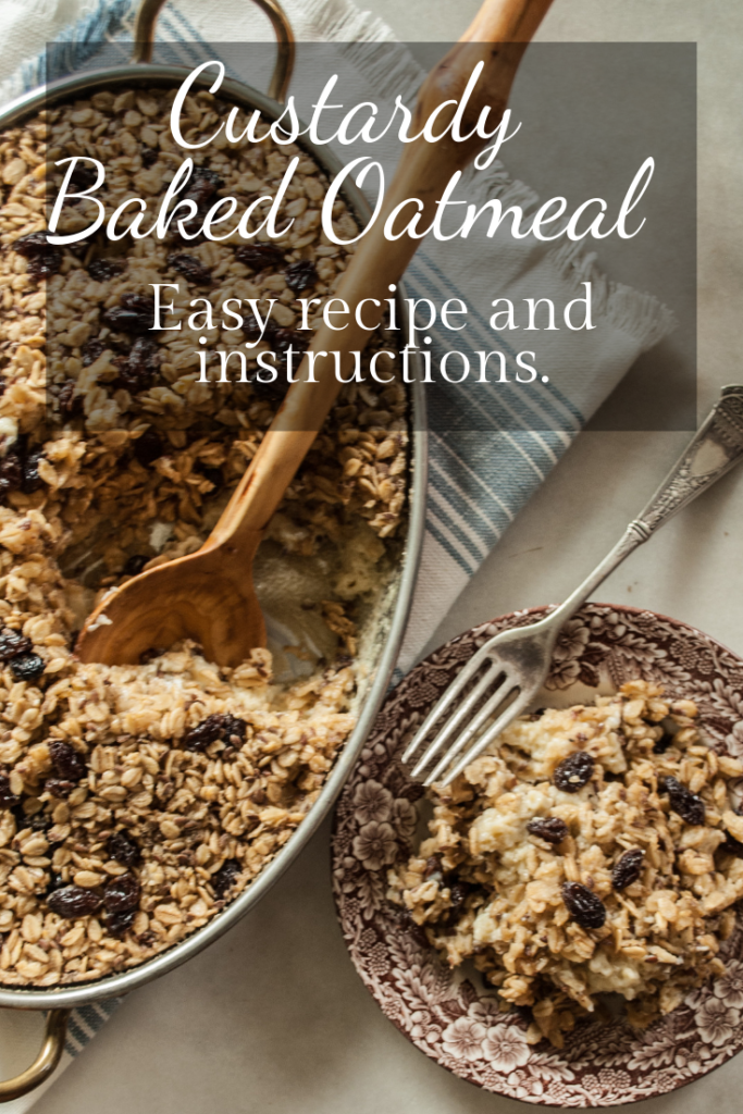 Easy Recipe and instructions for this delicious, elevated oatmeal recipe! Perfect for Family breakfast or brunch.  Free Printable Recipe.