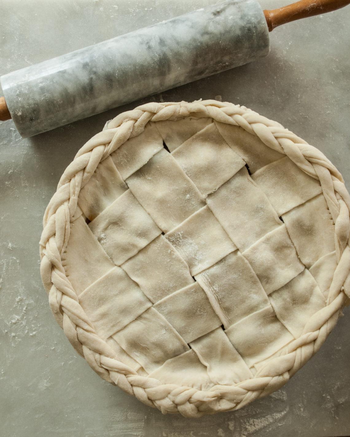 Easy Lard Pie Crust Recipe. Printable Recipe!