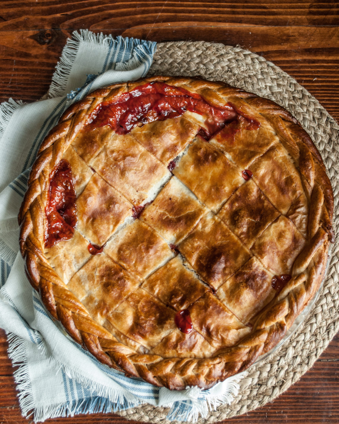 Sweet and tart, plum pies is easy to make and completely delightful. Recipe and instructions, and a cute printable recipe, too!