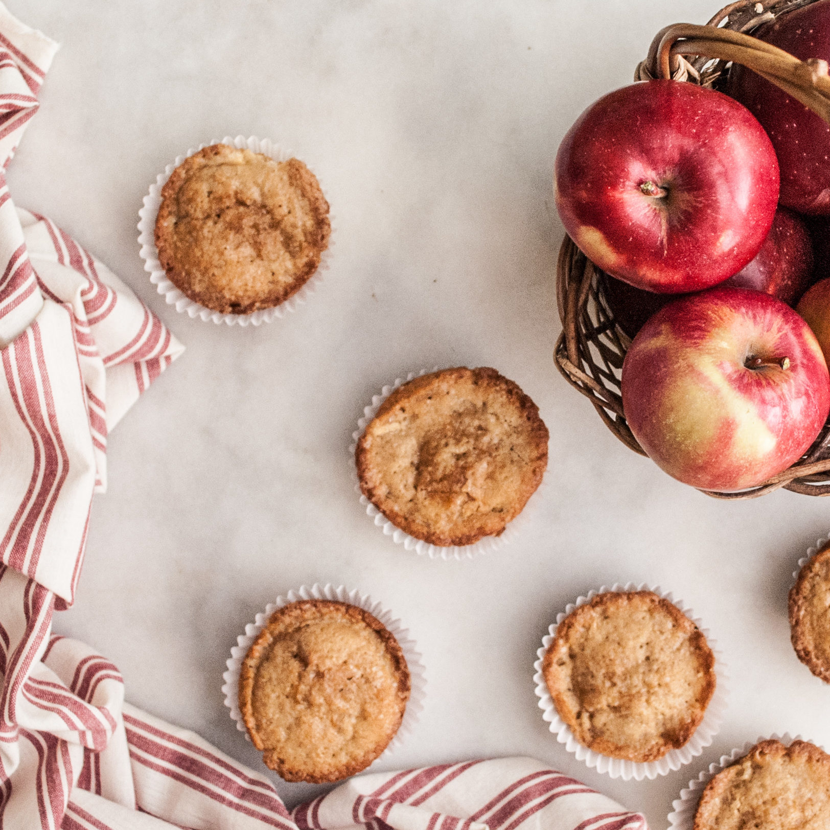 Apple Spiced Muffins Recipe, with free printable recipe. Easy instructions, perfect for breakfast, brunch, or even festive cupcakes!