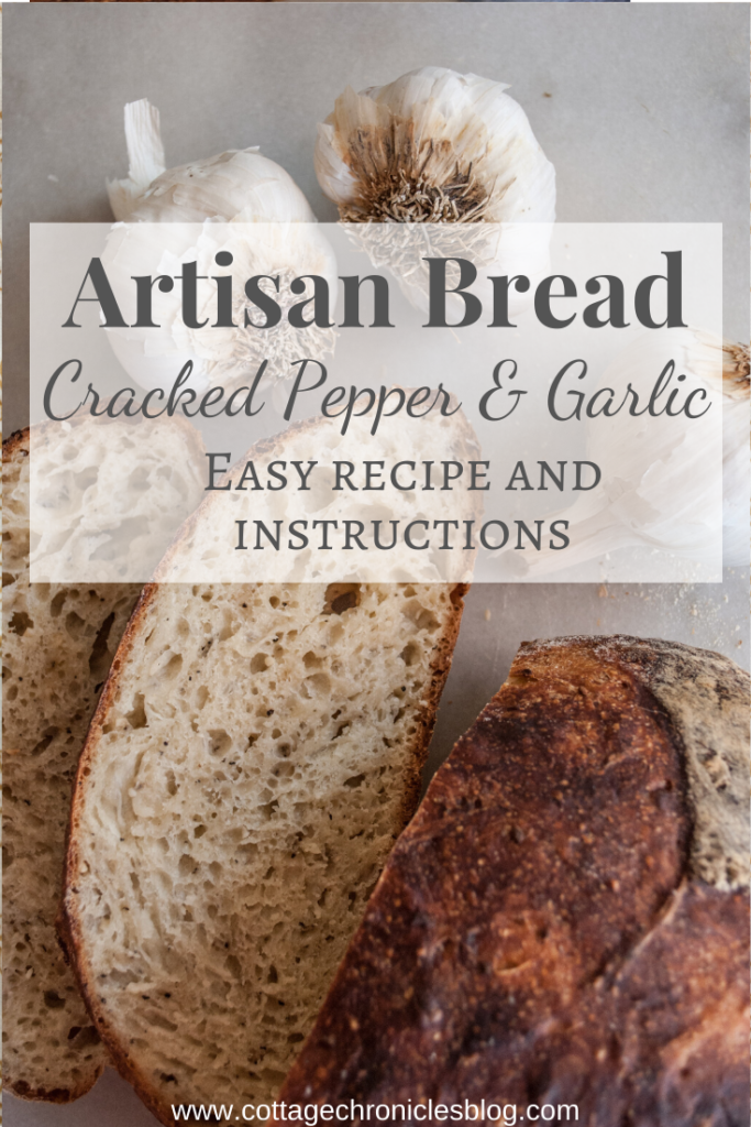 No Knead Garlic Bread. Easy Bread recipe that anyone can make, no baking experience required! Just a few ingredients and 5 minutes of prep time, and you're on your way to crusty, rustic, amazing bread!