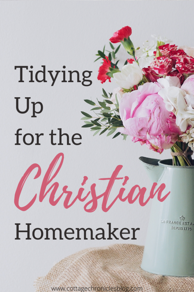 How to say no to fretful housekeeping.  In a world where decluttering and minimalism are so popular, how can a Christian woman keep a tidy home but not be consumed the all the good advice.