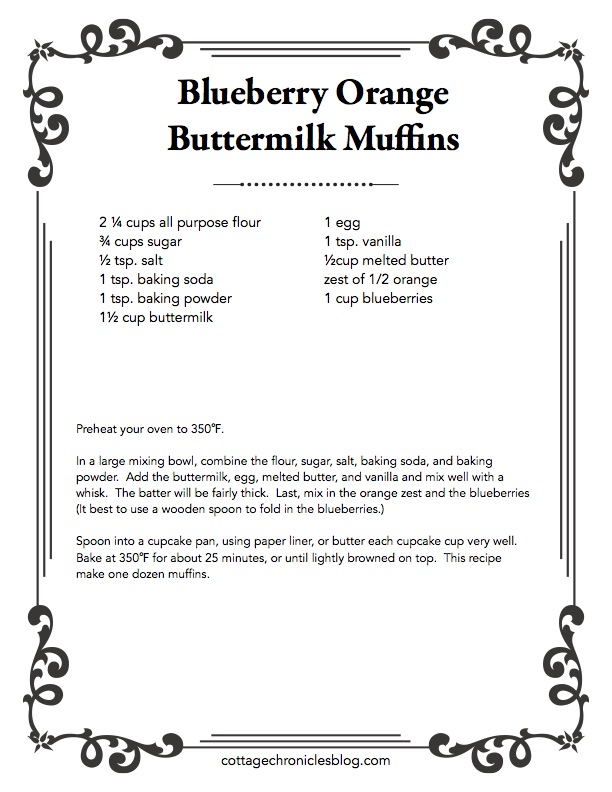 Easy Recipe for Blueberry Muffins. Soft, moist muffins. Not-to-sweet and loaded with blueberries, with a zesty orange twist. Blueberry Muffins at their finest!
