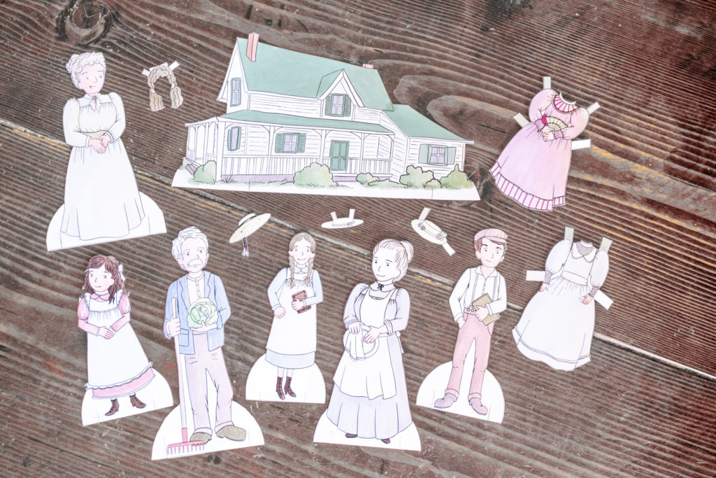 Anne of Green Gables Paper Dolls